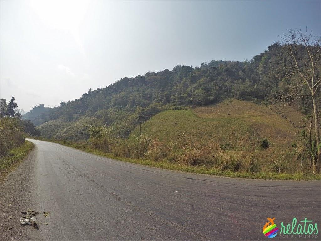 Ruta Vang Vieng - Luang Prabang