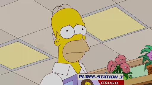 Los Simpsons 23x15 Salida por el badulaque