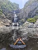 Tsitsikamma waterfall