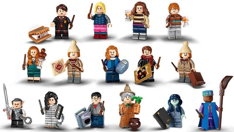 Contenido de Lego® 71028 Sobre Sorpresa Harry Potter 2