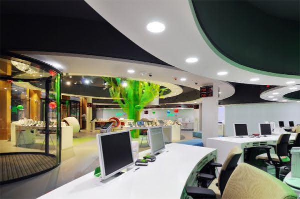 thiết kế shop điện thoại cao cấp