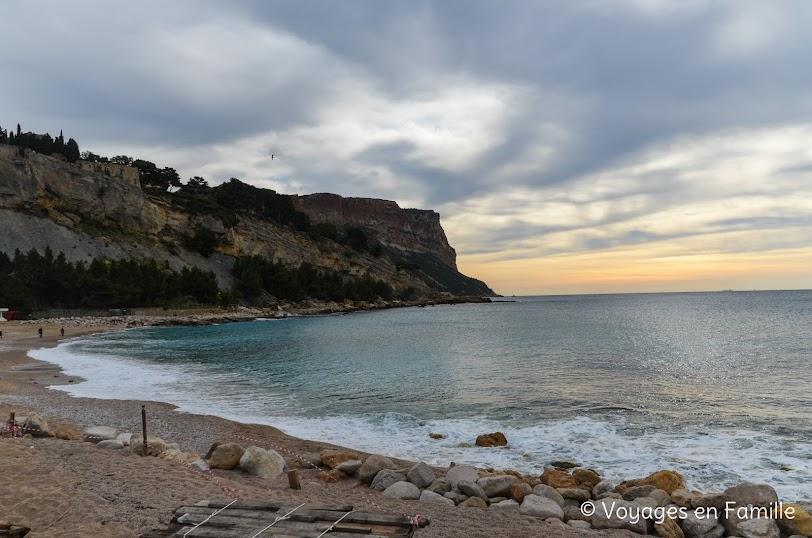 Cassis, plage de la grande Mer