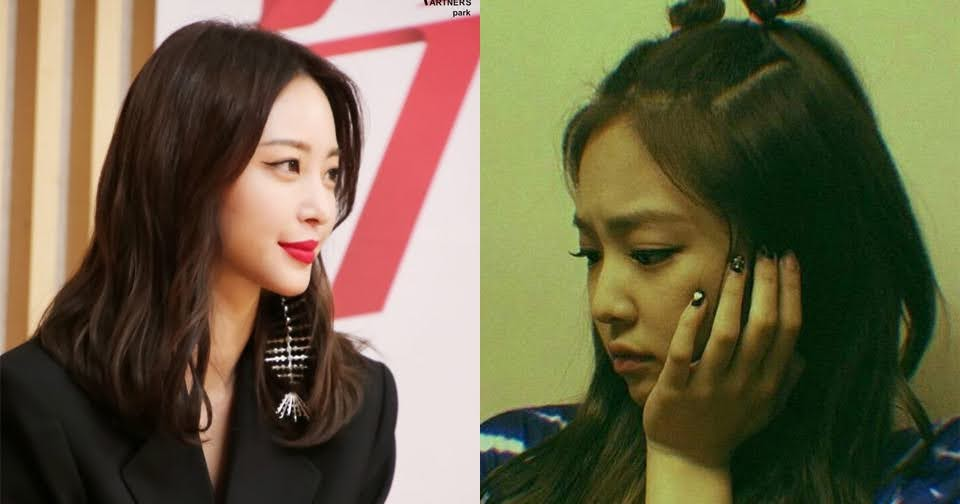 """Han Ye Seul responded to a netizens' question, """"Did you really slap BLACKPINK's Jennie?"""""""