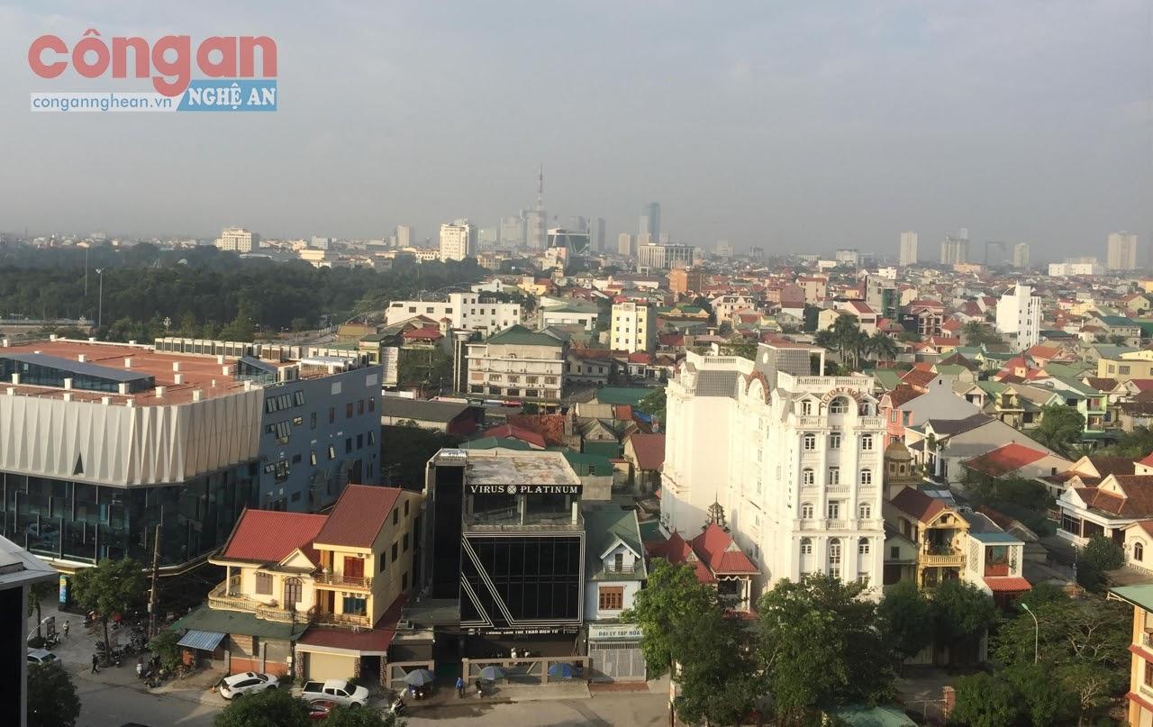 Với sự đầu tư đồng bộ, diện mạo đô thị tại Nghệ An ngày một khởi sắc