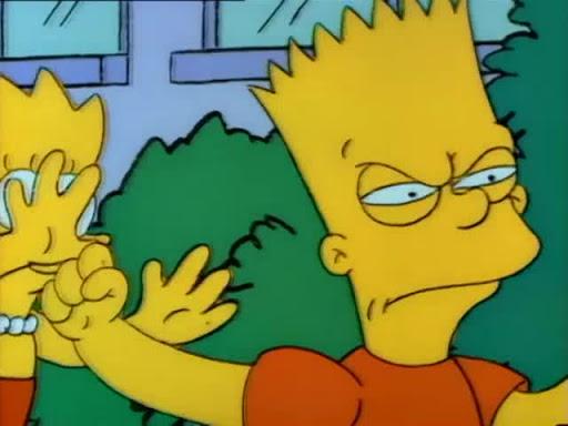 Los Simpsons 1x05 Bart el General