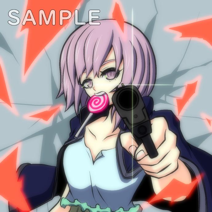 少女×銃(カラーイラスト)