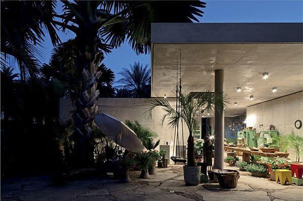 thiết kế cửa hàng cây cảnh