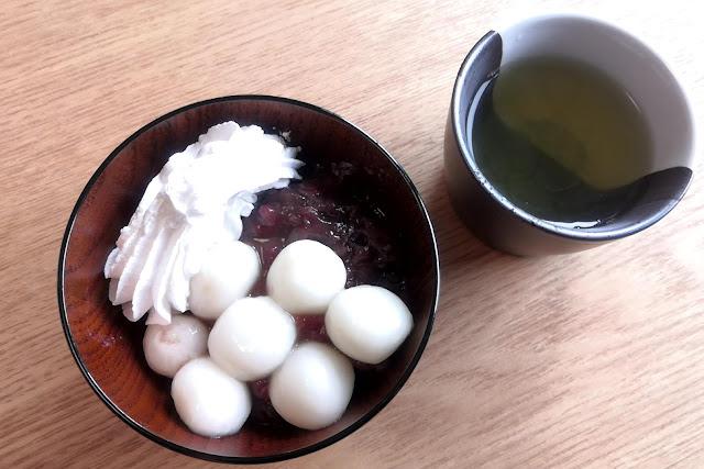 白玉クリームぜんざいの作り方