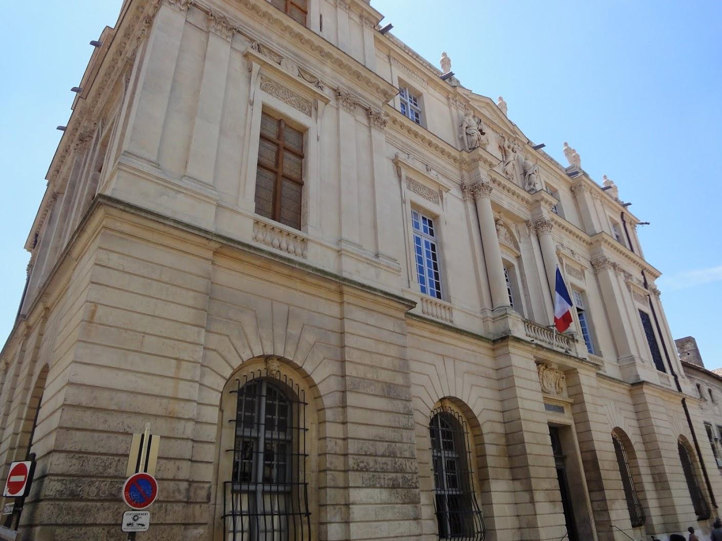 Hôtel de ville à Arles