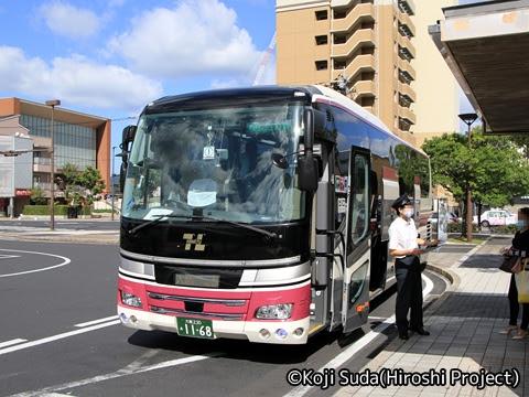 阪急バス「くにびき号」 1168 JR出雲市駅改札中