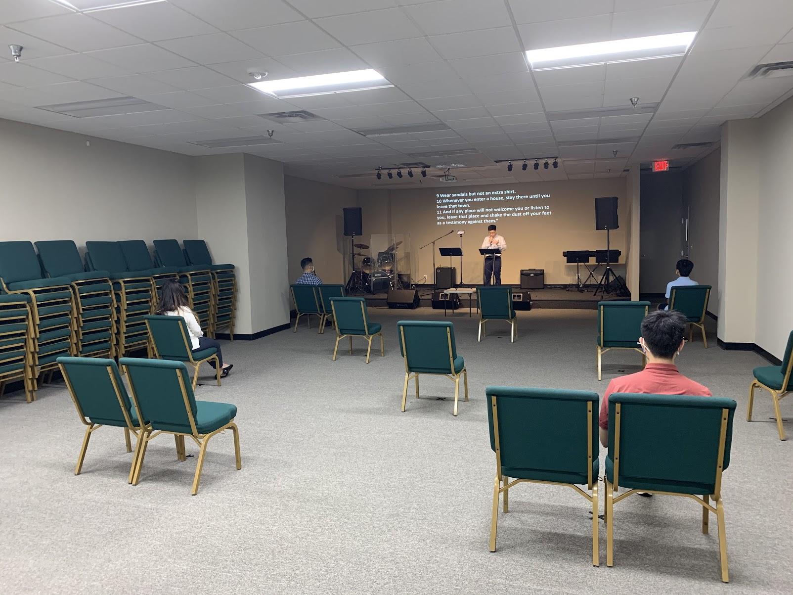 중고등부 새 예배실