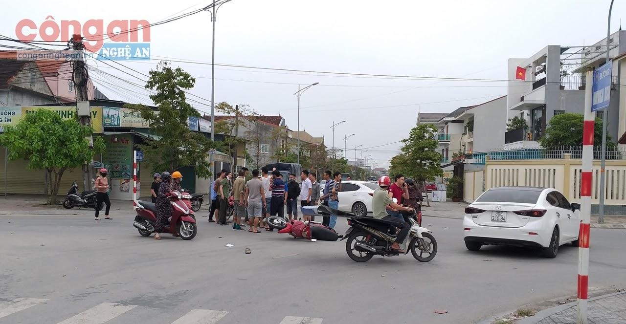 Vụ tai nạn xảy ra vào ngày 31/3, tại ngã tư giao nhau                  giữa đường Namyangju Dasan với đường Ngô Gia Tự,             khiến người đàn ông điều khiển xe gắn máy ngã xuống đường, phải đưa đi viện cấp cứu