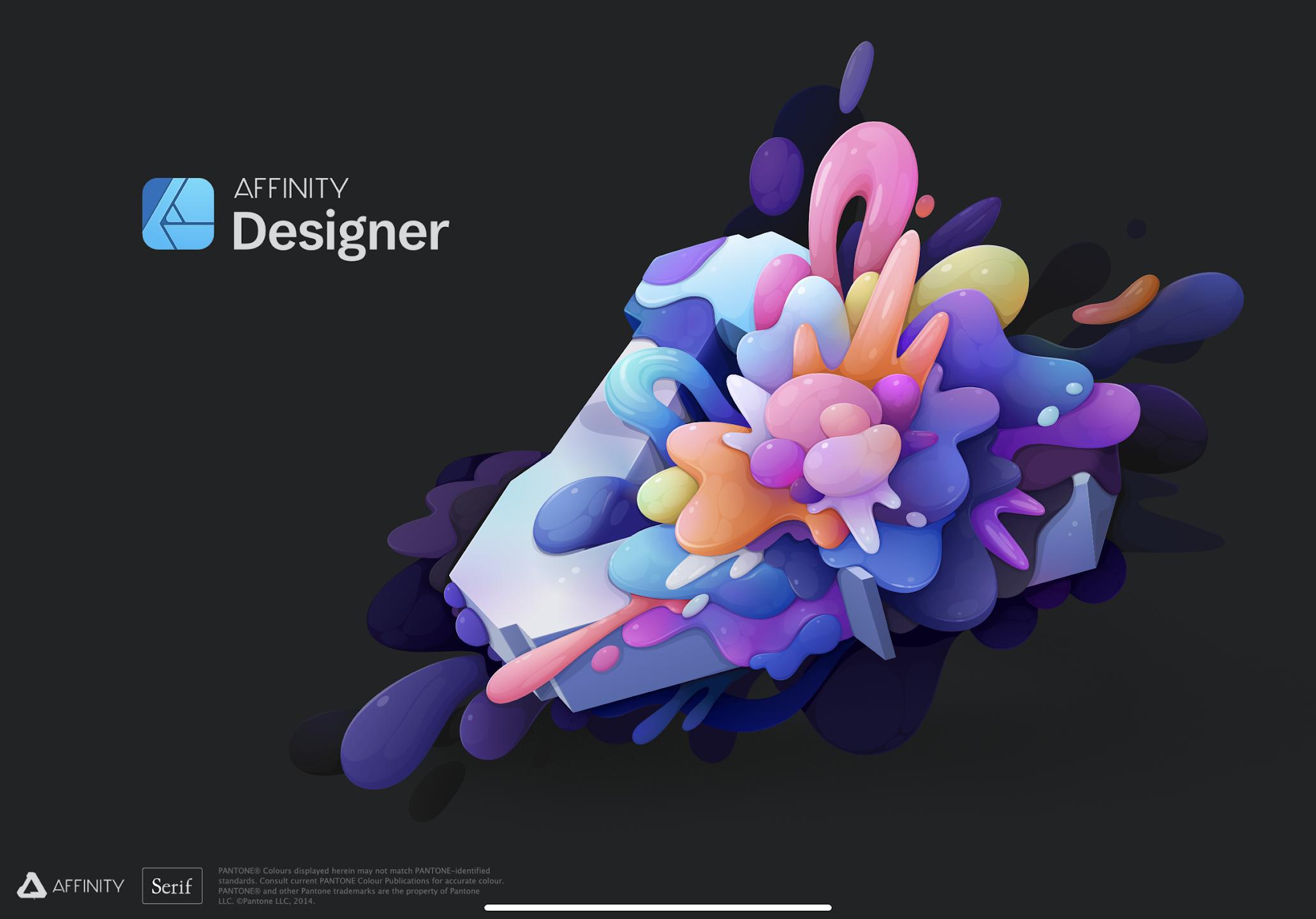 iPad用Affinity DesignerとAffinity Photoは凄い!