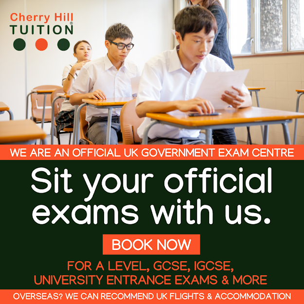 We are an official UK Government Exam Centre. Book now to sit your official exams at our government-approved exam Centre