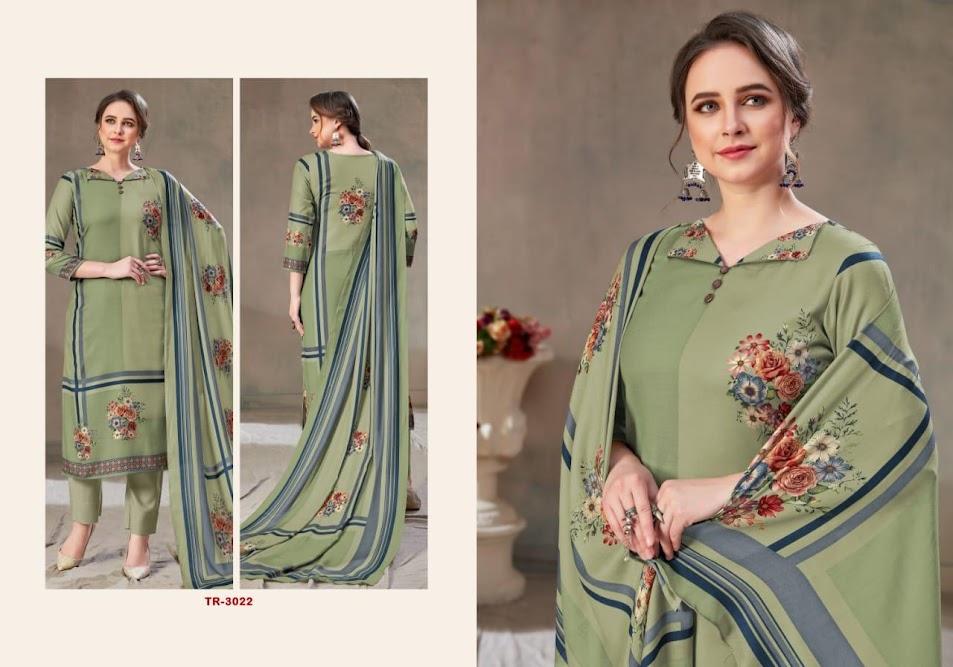 Ariana Rivaa Pashmina Dress Material Manufacturer Wholesaler