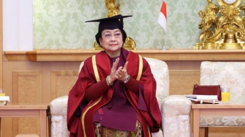 Megawati Soekarnoputri Profesor