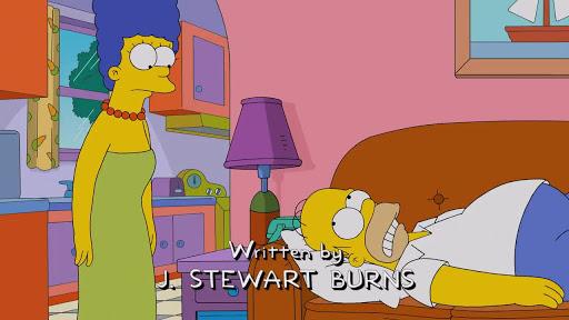 Los Simpsons 27x01 El sueño de todo hombre