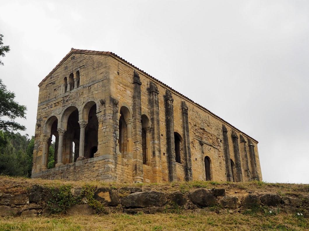 Iglesia Santa Maria del Naranco Oviedo