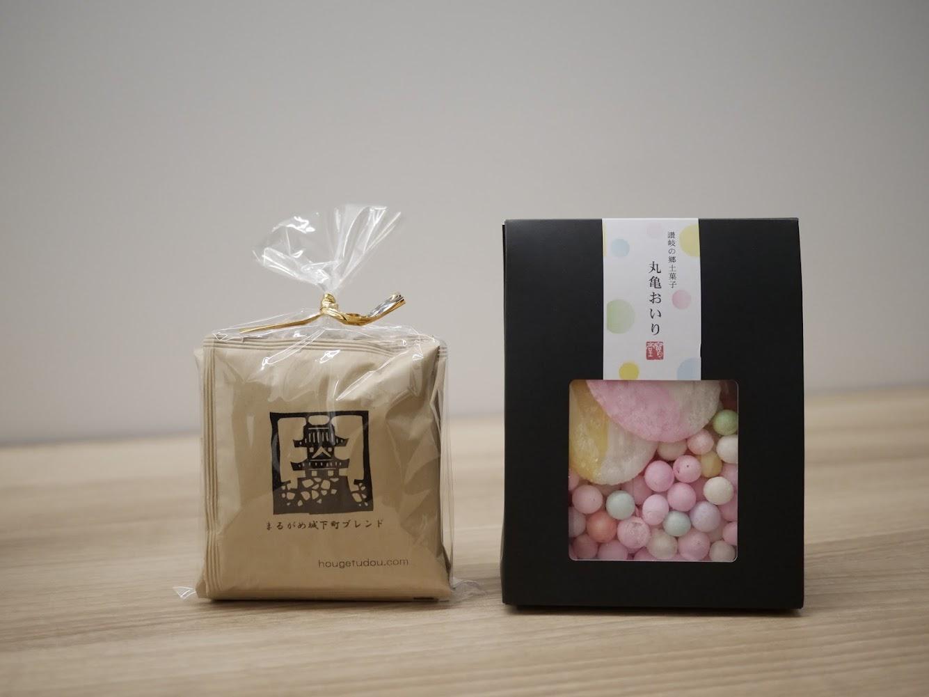 もち米からつくられた「おいり」と、和菓子に合うコーヒー