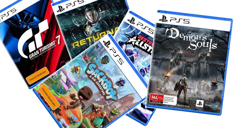 PS5 Exclusive Games BOX ART มาดูกล่องเกมเอกซ์คูลซีฟของ PS5 กัน