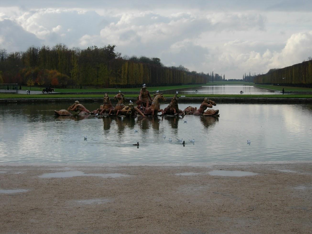Bassin Apollon au Château de Versailles