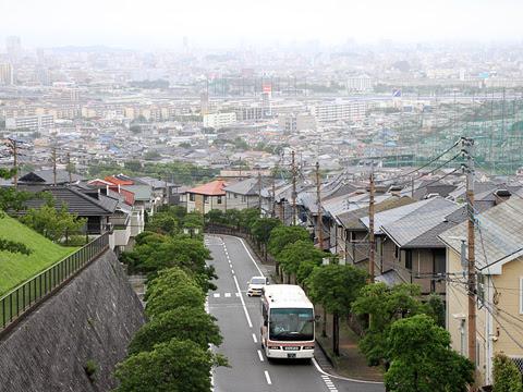 西鉄 ルーセント乗車会 那珂川 7021_14 生松台団地にて