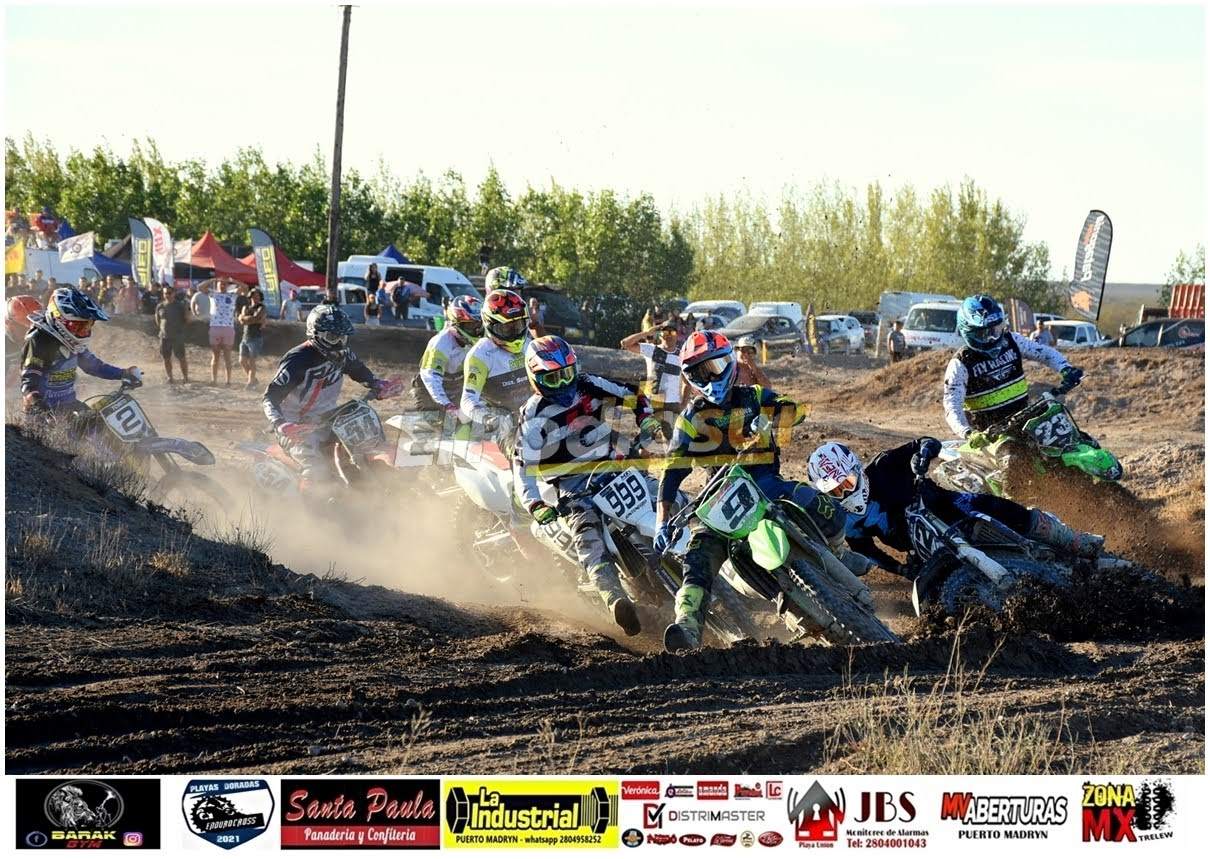 El Motocross se puso de pie en Puerto Madryn