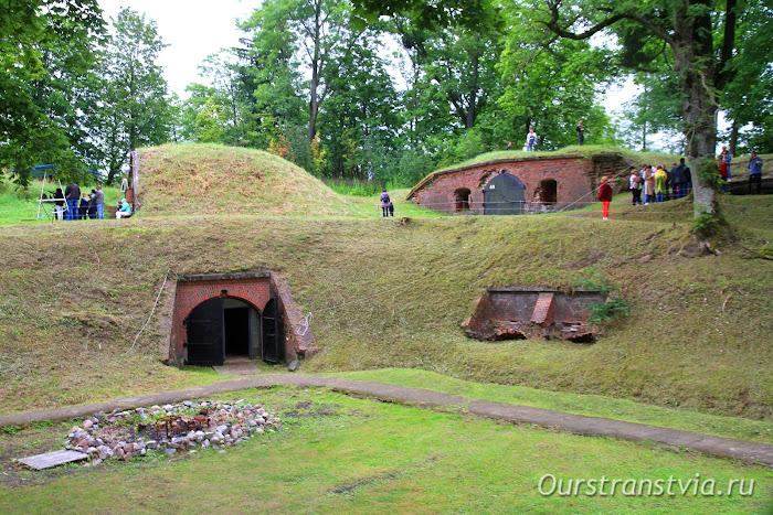 Форт Денхофф в Калининграде