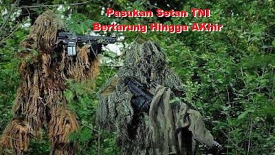 'Pasukan Setan' TNI Siap Tumpas Habis KKB di Papua, Sudah Selesai Lakukan Latihan