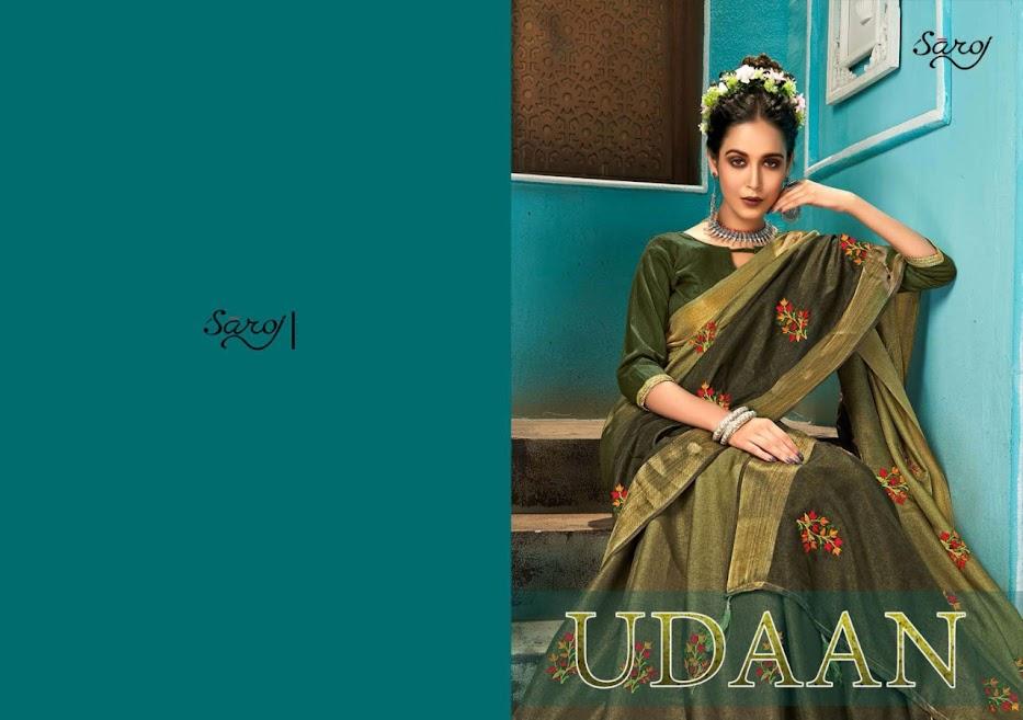 Buy Saroj Udaan Latest Sarees Catalog Online Wholesaler Lowe
