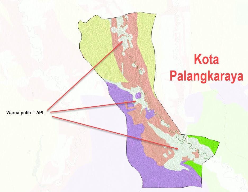 Status kawasan hutan Kota Palangkaraya
