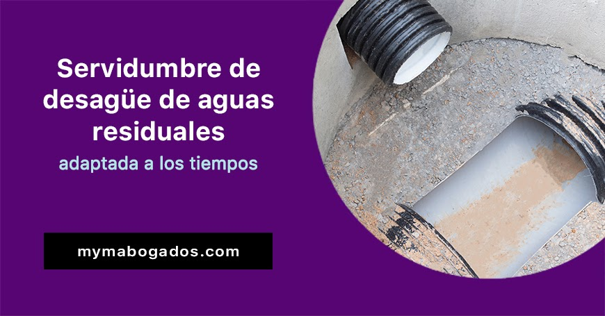 Servidumbre de desagüe de aguas residuales | Melián Abogados