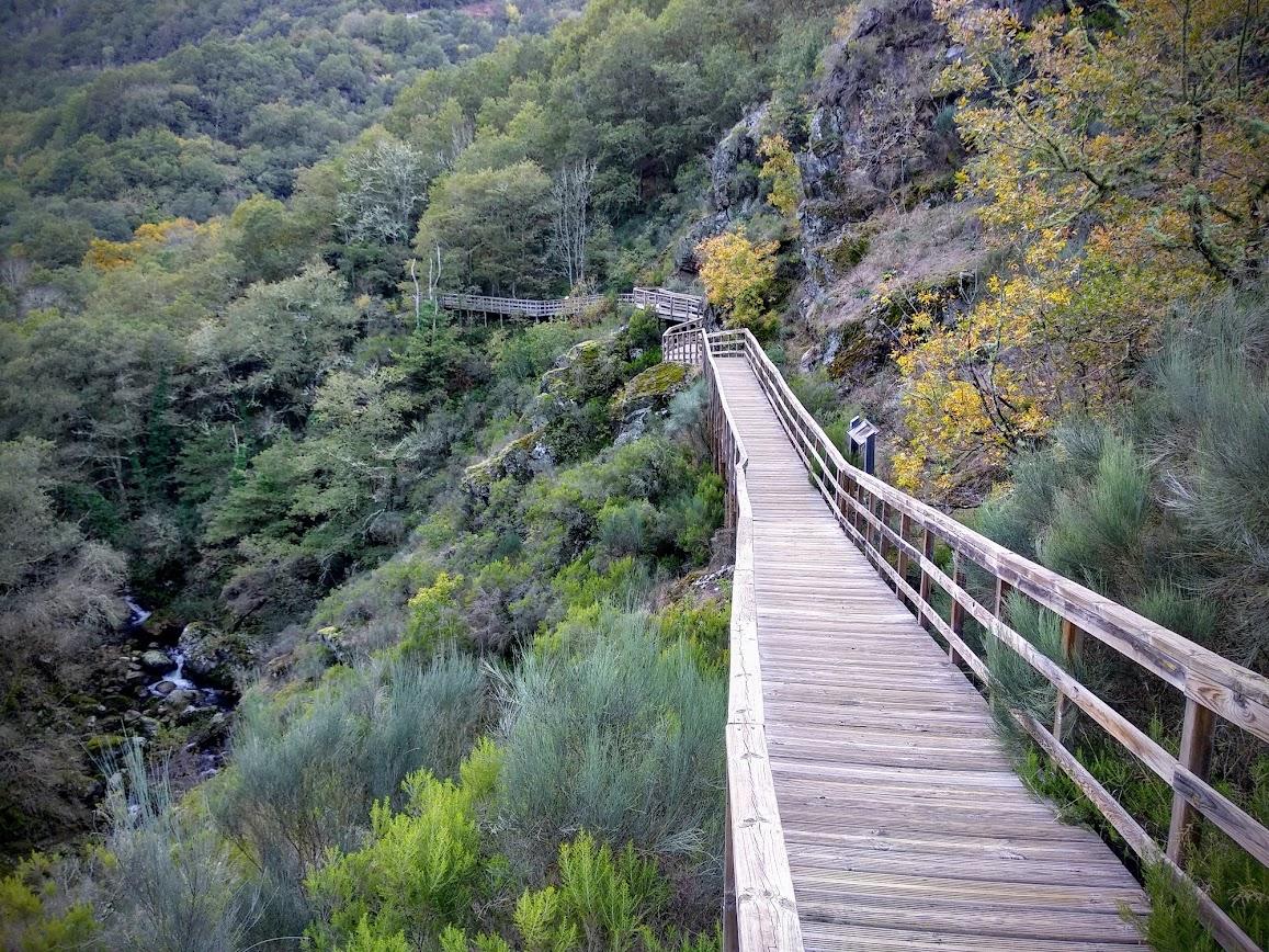 pasarelas río Mao