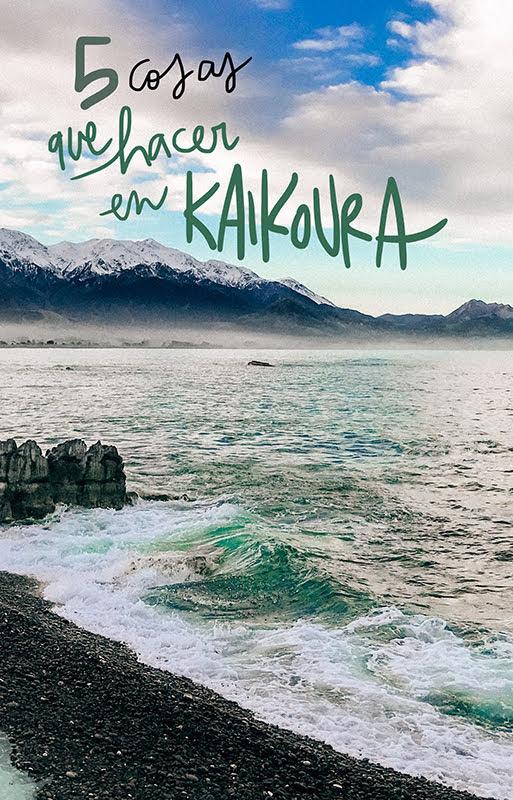 que ver y hacer en Kaikoura