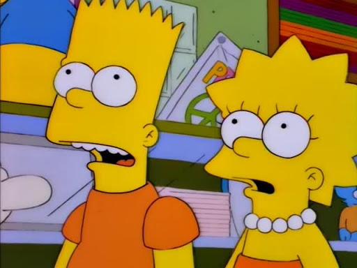 Los Simpsons 7x18 El día que murió la violencia