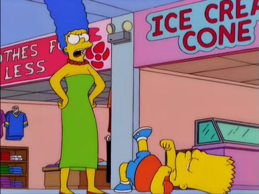 Los Simpsons 11x20 El último Tango en Springfield