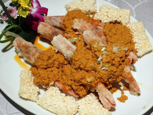 泰式咖哩明蝦