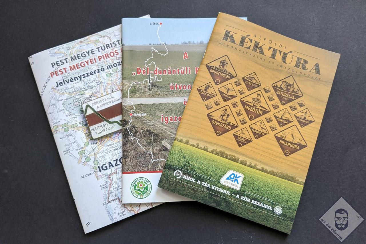 KÉP / Pecsétgyűjtő füzetek