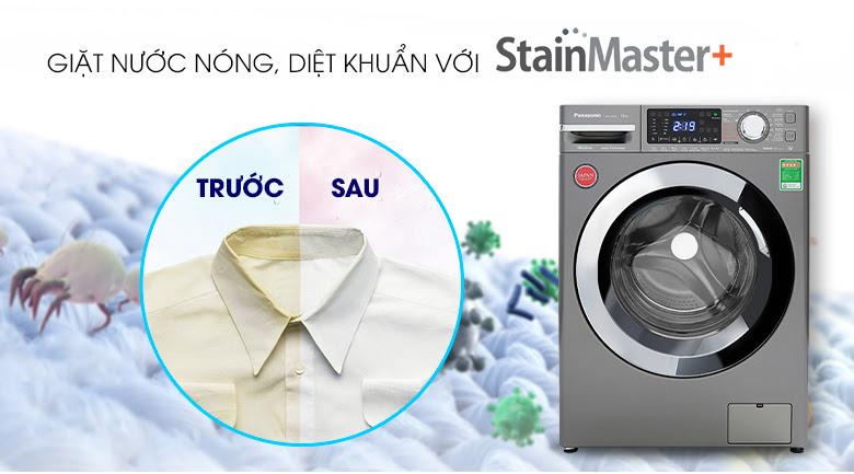 Công nghệ giặt nước nóng StainMaster+