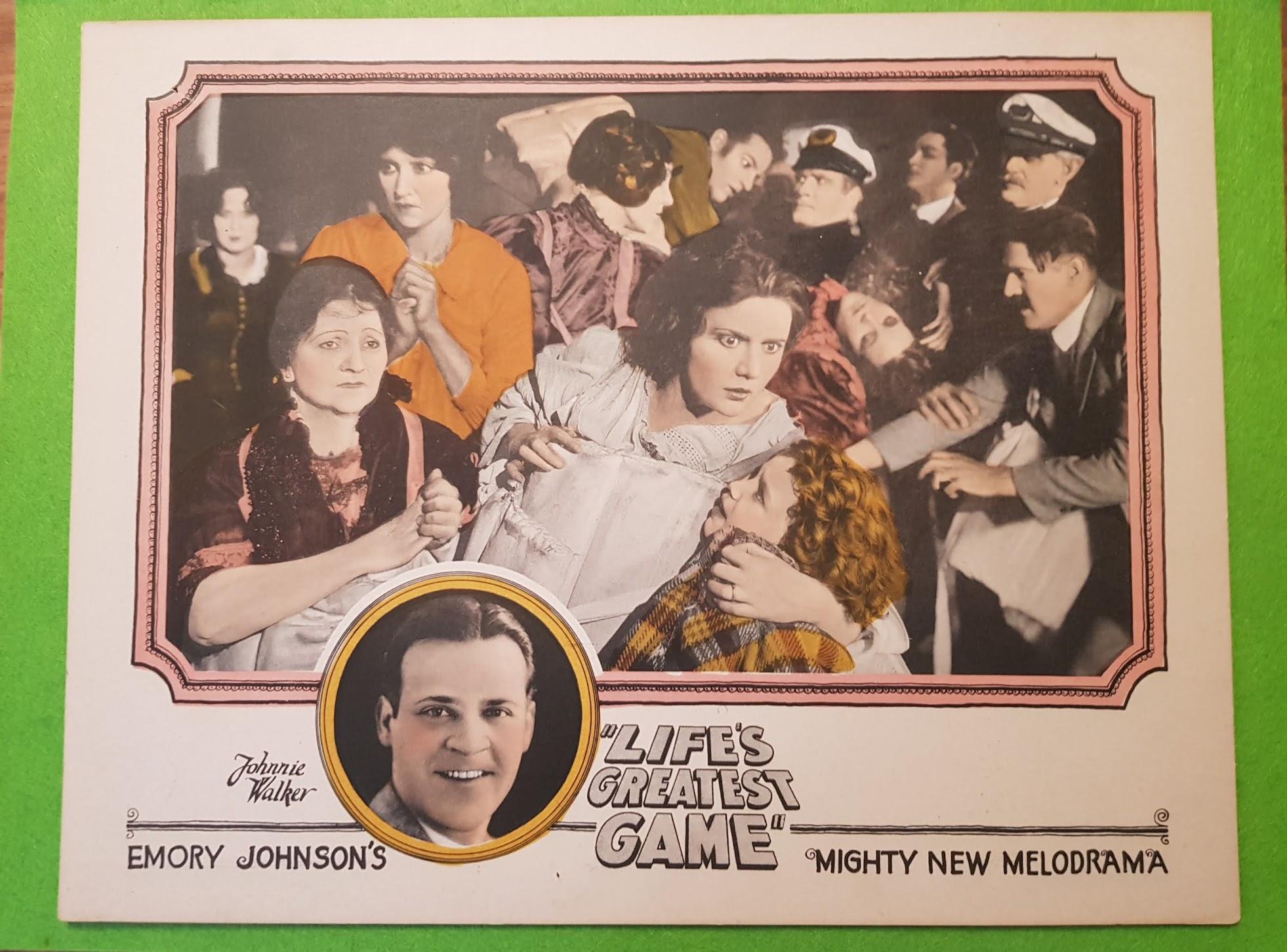 Lobby Cards - Filmplakate aus der guten alten Zeit