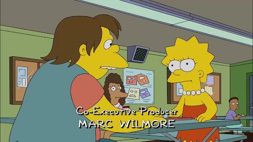 Los Simpsons 21x20 Vigilando con amor
