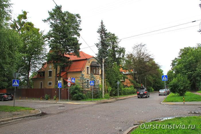 Немецкие дома в Калининграде