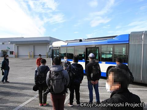 JRバス関東 白河支店 新旧連節バス撮影ツアー_11 白河支店長挨拶