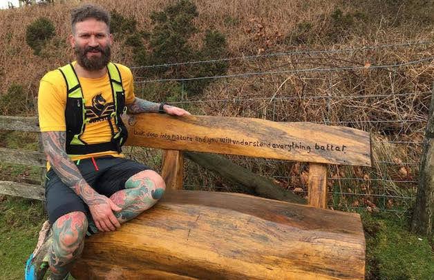 A 177-mile marathon for mental health