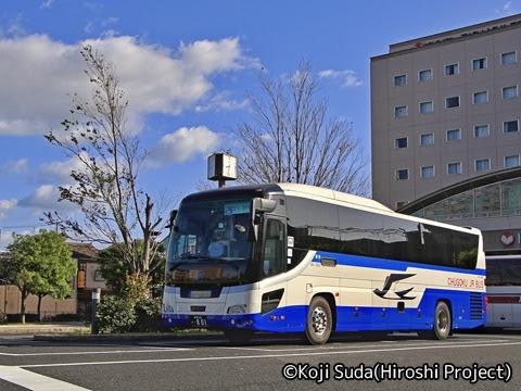 中国JRバス「出雲ドリーム博多号」 641-3955 JR出雲市駅到着 その1