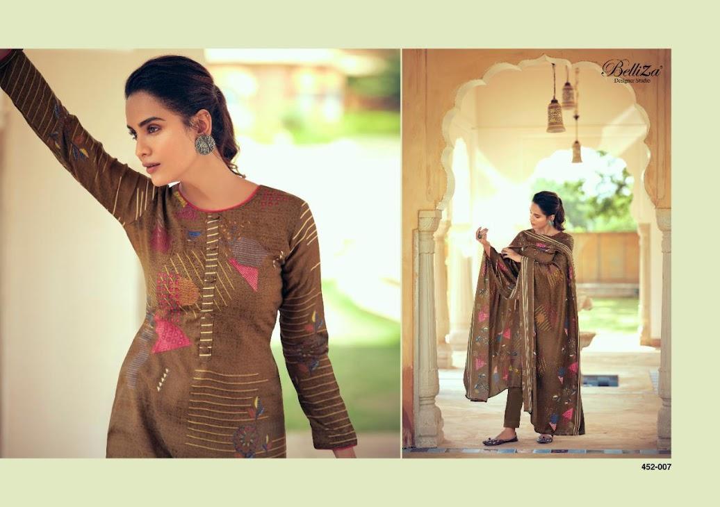 Aisha Belliza Designer Studio Pashmina Dress Material Manufacturer Wholesaler