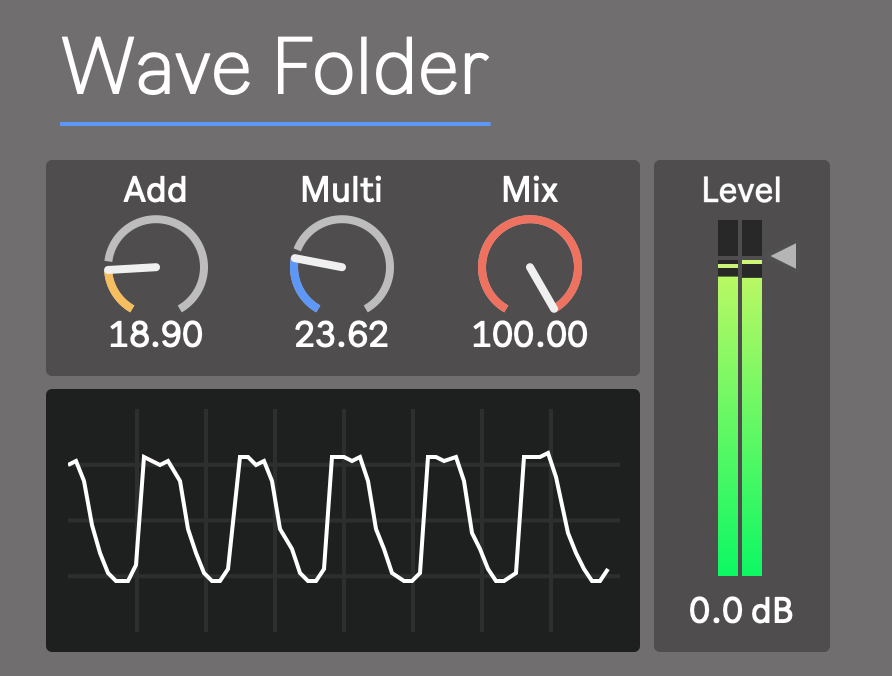 Wave Folder Ableton
