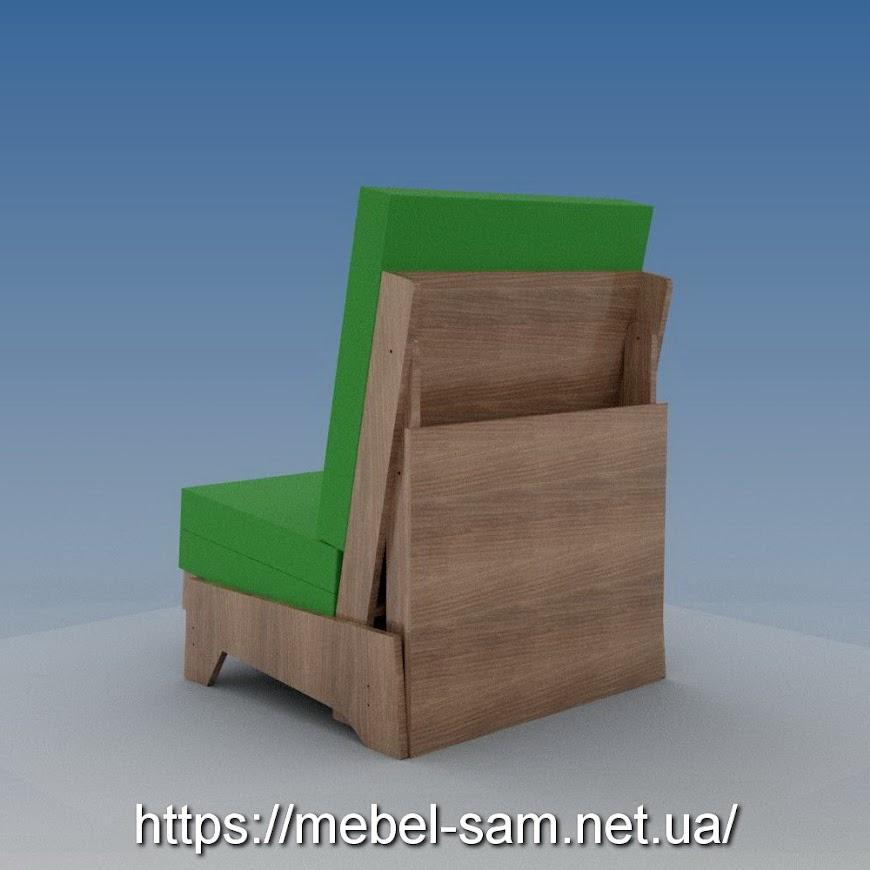 Вид на кресло сзади