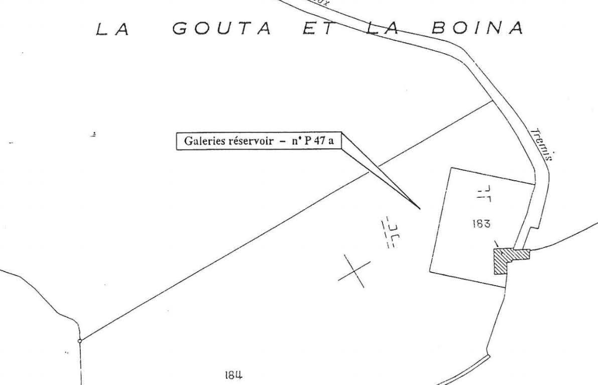 Les réservoirs de La Gouta et La Boina