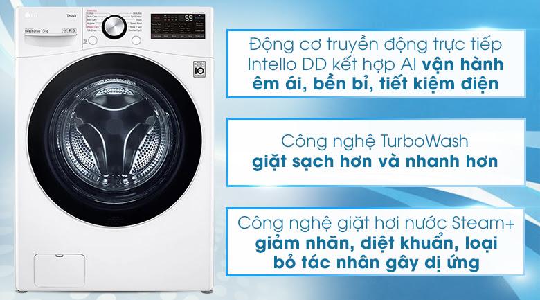 Máy giặt LG cửa trước Top Gun